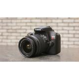 Camara Canon Rebel T6 Con Lente 18-55 Usada Envío Gratis