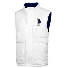 Chaleco U.s Polo Assn Usnvest-44-422 Blanco Caballero Oi