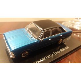 Miniatura Opala Luxo Azul 1:43 1970 Nº 59 Salvat Collection