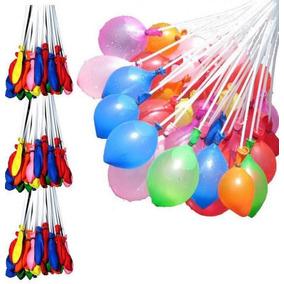 Kit 137 Bexigas Balão De Água Festas E Carnaval Coloridas