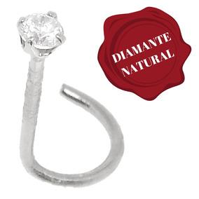 8dd0c8c259ea Piercing Nariz De Diamante E Ouro - Joias e Relógios no Mercado ...