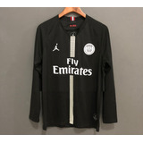 22c9ddcf7 Camisa Paris Saint Germain Manga Longa - Futebol no Mercado Livre Brasil