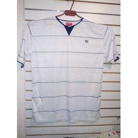 Franela Sudadera Camiseta Deportiva Wilson 100% Original c7ebb853eec81