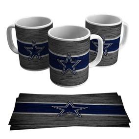Caneca Dallas Cowboys Escudo Futebol Americano Nfl Brasão 415921bc846b8