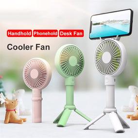 Ajustável Mini Fan 2000mah Recarregável Conveniente Pequen