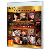 Juego Ps3 Dead Or Alive 5 Ultimate Ps3
