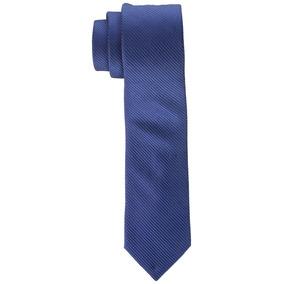 Calvin Klein Hombre King Cord Ii Corbata, Azul Marino, Un