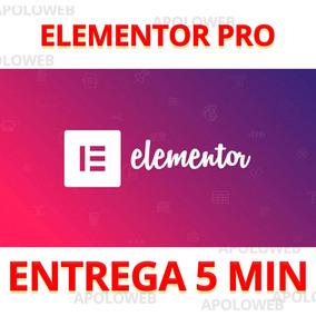 Plugin Elementor Pro 2.5.5 + Atualizações 1 Ano Top