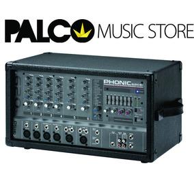 Misturador De Som Phonic Powerpod 620 Plus - Loja Palco
