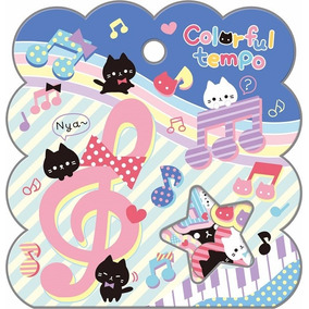 Stickers Cute Kawaii Japoneses Oso Kuma Neko Gato Panda
