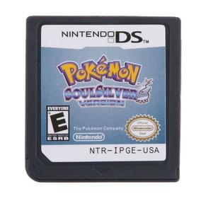Pokemon Soulsilver Inglês Americano Nintendo Ds 3ds 2ds