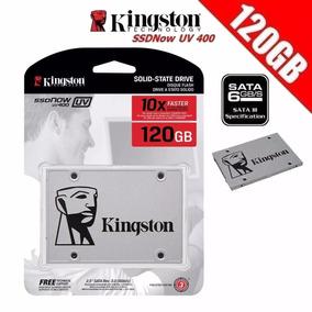 Hd Ssd Kingston 120gb Ssdnow Uv400 Sata 3 6gb/s 500mb/s