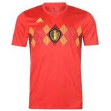 Camisa Da Bélgica Vermelha Copa 2018 - Frete Grátis a6a56356b8f37
