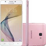 Smartphone Samsung Galaxy J7 Prime Rosa Original - Vitrine