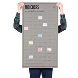 Poster 100 Cosas Por Hacer Antes De Morir Doiy