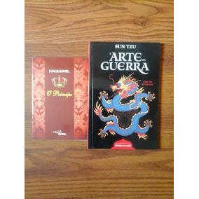 Lote 2 Livros Novos O Principe - Arte Da Guerra - Ed.bolso