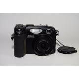 Cámara Nikon Coolpix 5400 Dañada Para Partes