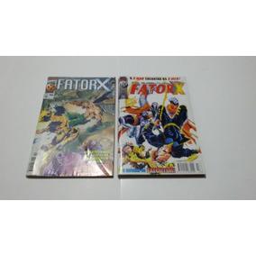 Lote Hq Fatorx 4 Ediçoes Formatinho 7,8,10,13
