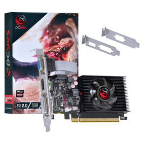 Placa De Vídeo Pcyes Amd Radeon Hd 5450 1gb 64bits Ddr3 Dx11
