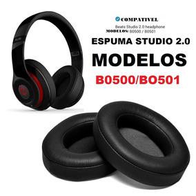 Espuma Monster Beats Studio 2.0 Preta Pronta Entrega