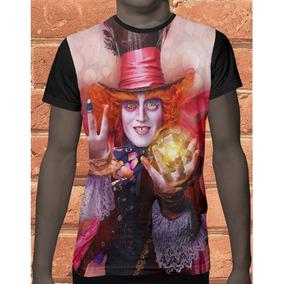 Camiseta Camisa Chapeleiro Maluco Alice Fantasia Filme 587 . 7a7a3458e23