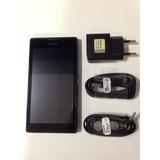 Smatphone Sony Xperia C C2304, 8mp, Dual Chip Memória 4gb P