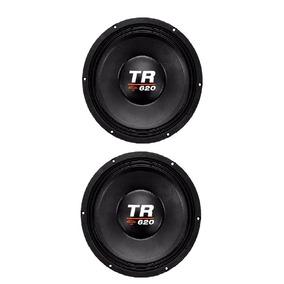 Kit 2 Woofer Triton Tr 620 W Rms 4 Ou 8 Ohms Promoção!