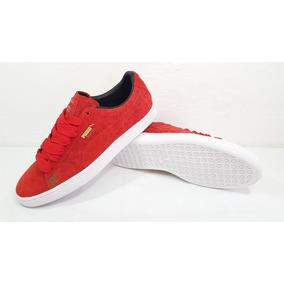 Tnis Puma Suede Classic Vermelho - Tênis no Mercado Livre Brasil 20c68dcb3c107