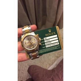 Rolex Daytona Aco E Ouro Completo