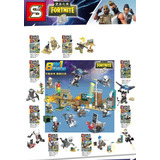 Fortnite( S )símil Lego Set Por 8 Mini Figuras.
