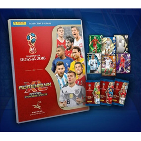 Cards Da Copa Do Mundo Da Russia De 2018 - Completo