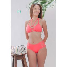 Vestidos De Baño Bikini Corte Alto