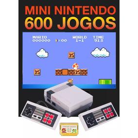 Video Game Nes Nintendo Console Retro 600 Jogos