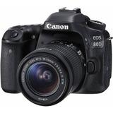 Canon Eos 80d Kit Con 18-55mm