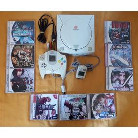 Dreamcast Super Conservado+9 Jogos+memorycar 1 Controles