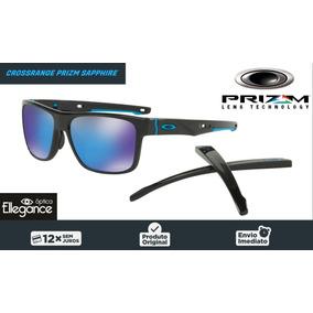 4109dad0a327a Óculos Oakley Crossrange Oo9361-1357 - Prizm Sapphire