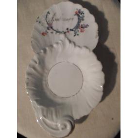 Plato Decoratio De Porcelana Francesa - B. R & L - Limoges