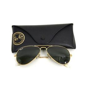 Oculos Aviador Lentes De Cristal Espelhado Sol - Óculos no Mercado ... c607b565e1