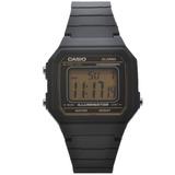 35b16d635dd5d Relógio De Pulso Casio Vintage Unissex W-217h-9avdf - Preto