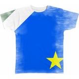 Camisa Camiseta Personalizada Bandeira Mato Grosso Do Sul