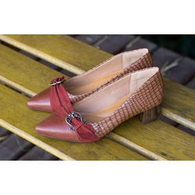 5b5838f484 Sapatos Femininos Scarpin - Sapatos em Sapiranga no Mercado Livre Brasil