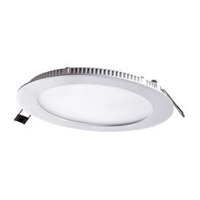 Panel Led Slim Luz Fría Circular Plafon 6500k 18w Mgpep18 /e