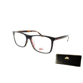 e7fea019e73af Armação Óculos Grau Masculino Nike 8987 Acetato Premium · R  120