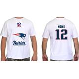 Camisa New England Patriot - Camisetas de Futebol Americano no ... 1fe26b546ffd3