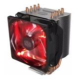 Cooler Procesador Cooler Master Hyper H410r Red Led