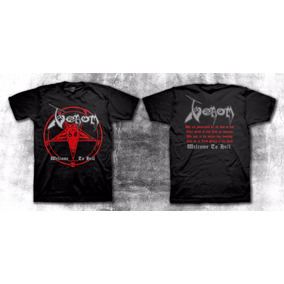 Venom - Welcome To Hell - Remera