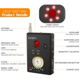 Detector Dooreemee Anti-espía Cámara Láser Rf Bug Gsm Buscad