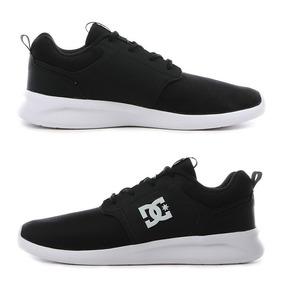 Tenis Dc Shoes Midway Negro Casual Hombre Originales Urbanos d1f4bf4888f6c