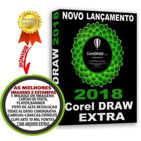 Corel Draw 2018 Licença Original Novo Lançamento 2018 2019