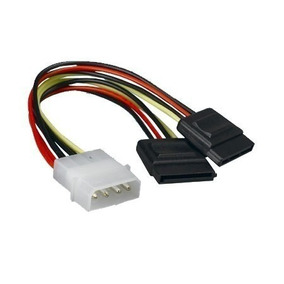 Cable Convertidor Molex A 2 Sata Power